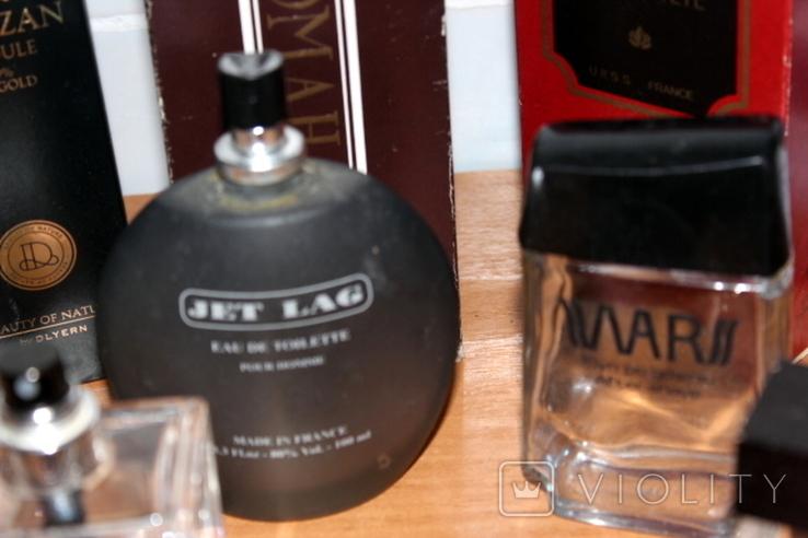 Пустые флаконы с разной парфюмерии + пустые коробки в подарок, фото №12