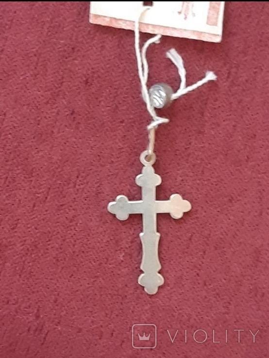 Серебрянный крестик, фото №5