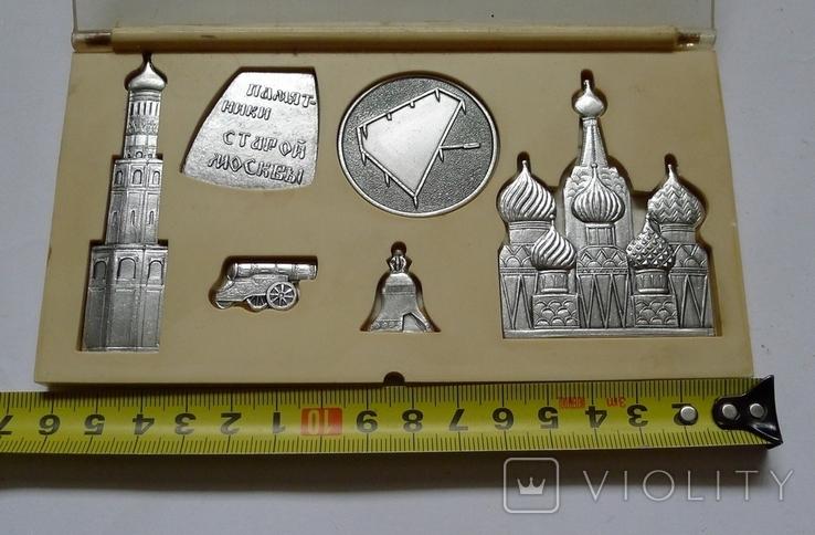 """Сувенир СССР """"Памятники старой Москвы."""", фото №3"""