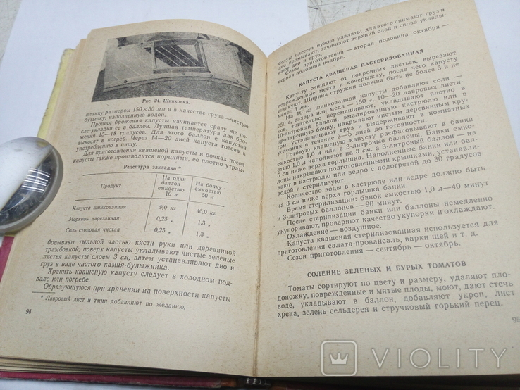 Домашнее консервирование пищевых продуктов 1964г., фото №8