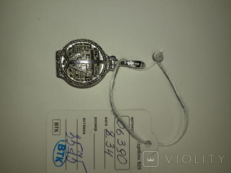Ладанка серебро 925 проба, фото №2