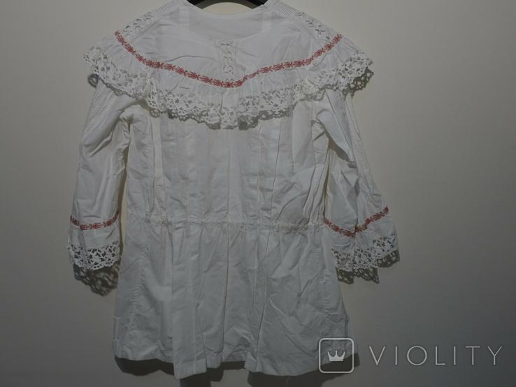Рубашка женская конец 19 века  Италия с инициалами, фото №7