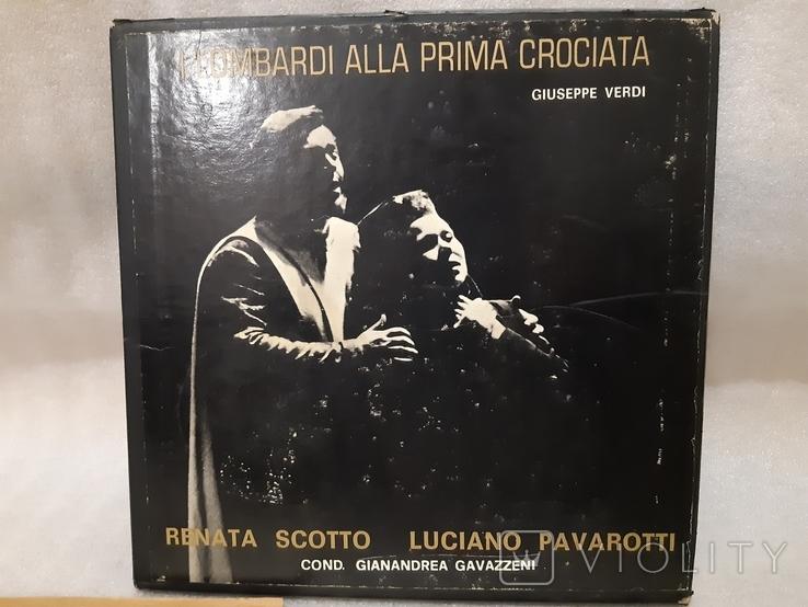 Пластинка Renata Scotto Luciano Pavarotti (2 пластинки в твердой коробке), фото №3
