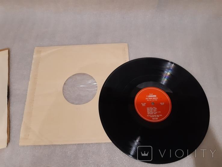 Пластинка Renata Scotto Luciano Pavarotti (2 пластинки в твердой коробке), фото №10