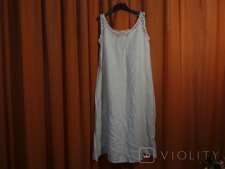 Ночная сорочка 19 век Италия с инициалами, фото №8