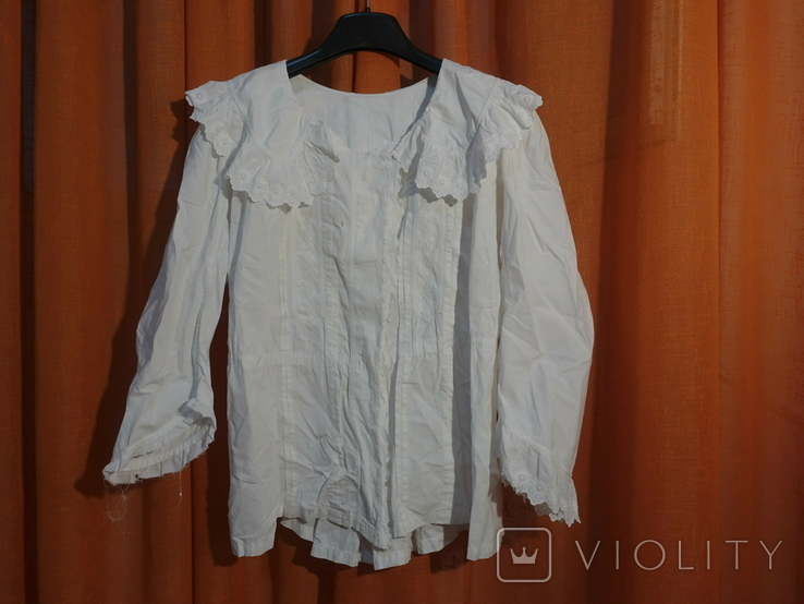 Рубашка женская конец 19 века  Италия, фото №2