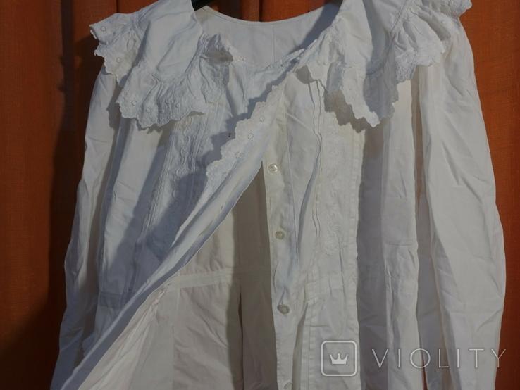 Рубашка женская конец 19 века  Италия, фото №5