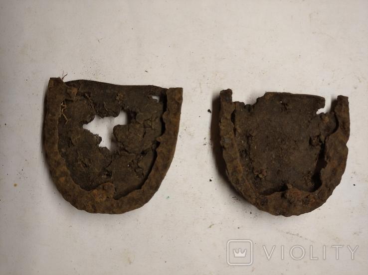 Немецкие подковы с набойками, фото №2