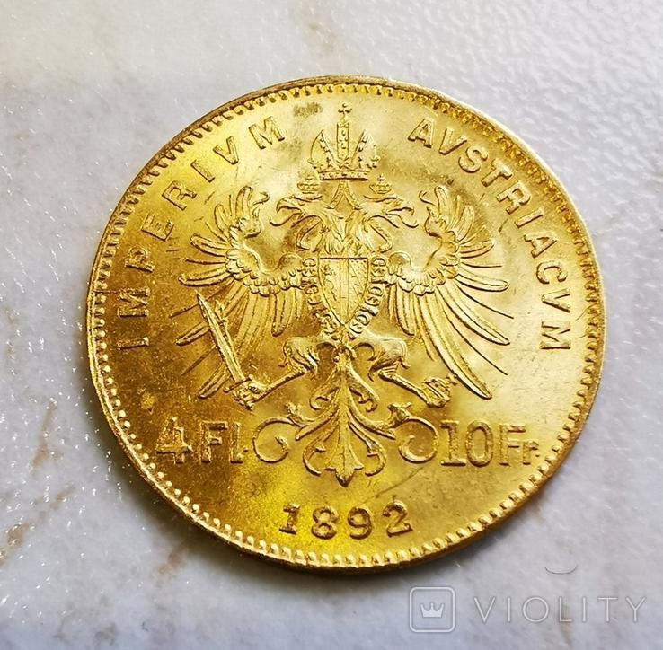 4 флорина 1892, фото №3