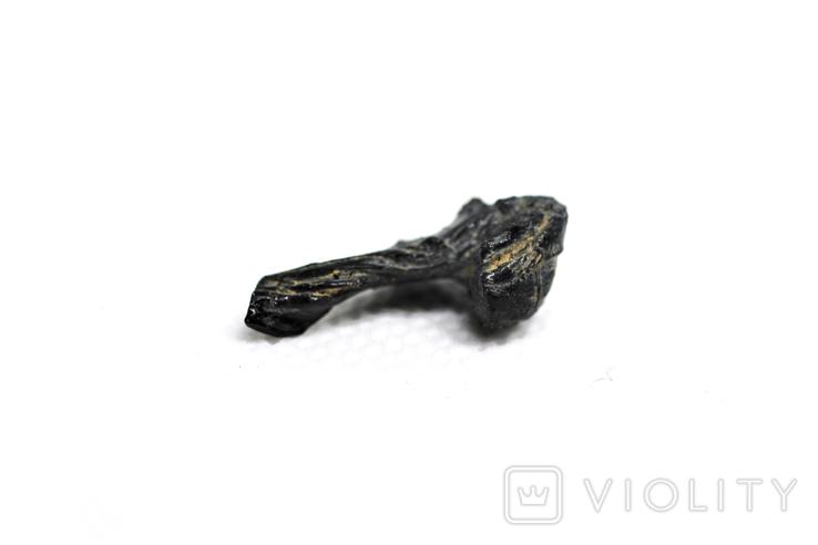 Імпактне тіло, тектит Irgizite, 0,79 грам із сертифікатом автентичності, фото №7