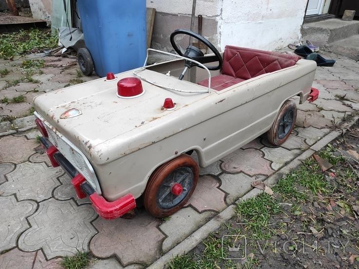 Педальная машина Львовянка ДА4М СССР, фото №2