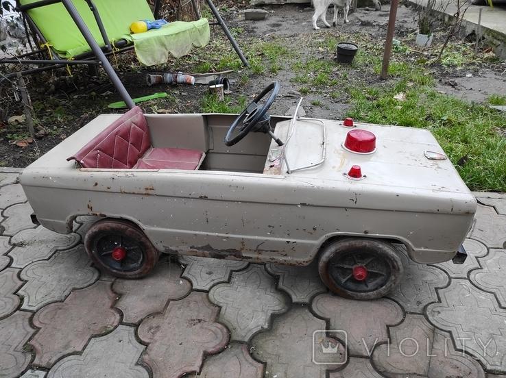 Педальная машина Львовянка ДА4М СССР, фото №6