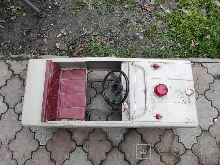 Педальная машина Львовянка ДА4М СССР, фото №7