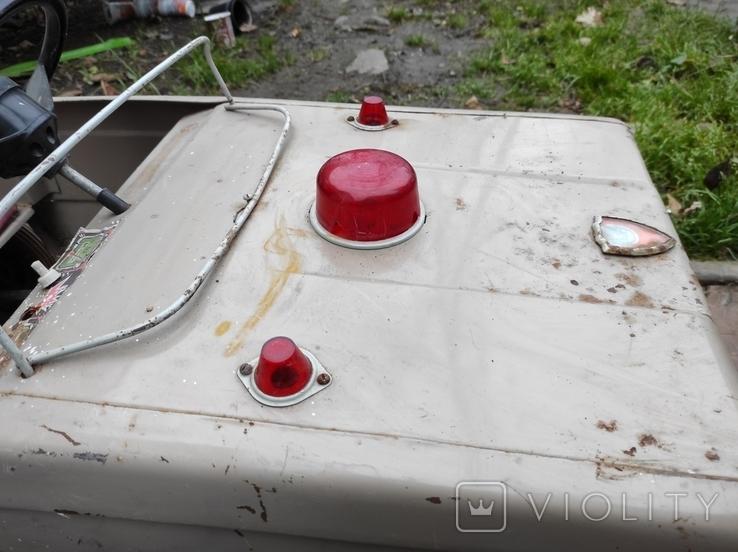 Педальная машина Львовянка ДА4М СССР, фото №11