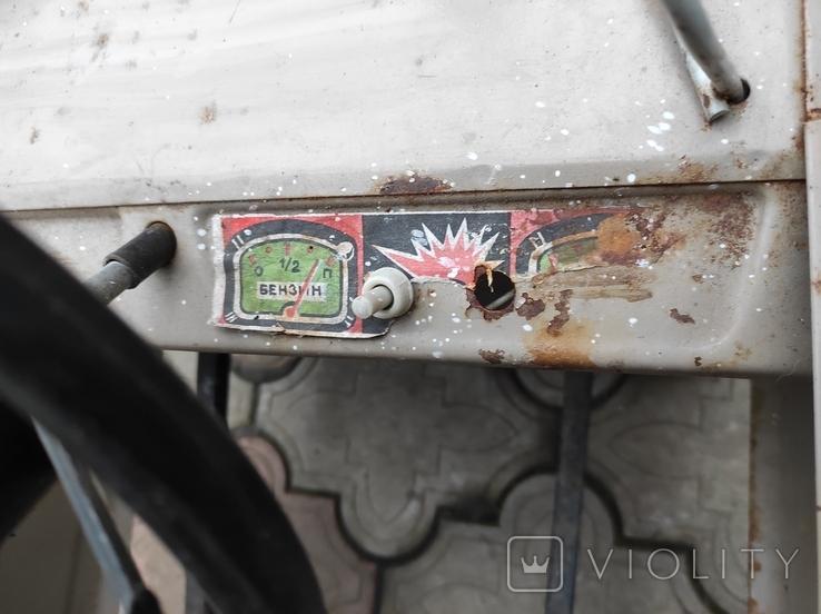 Педальная машина Львовянка ДА4М СССР, фото №12