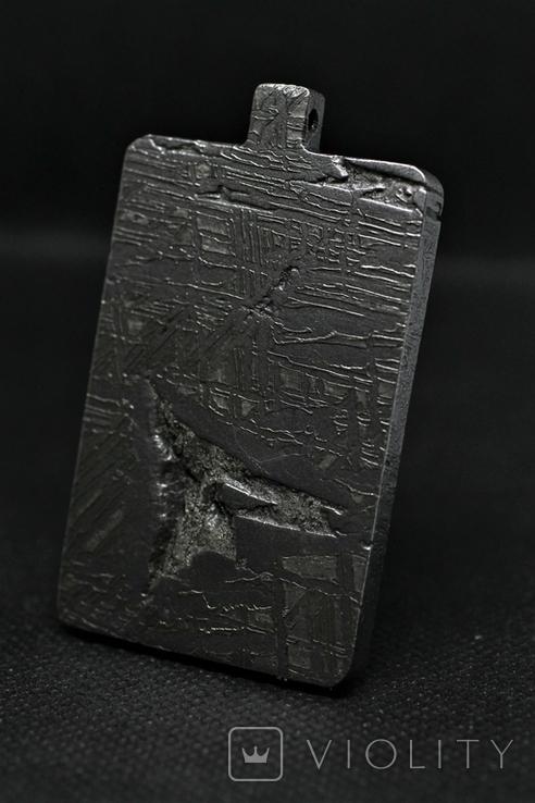 Кулон-амулет Дракон із метеорита Aletai, 95,2 грам, із сертифікатом автентичності, фото №8