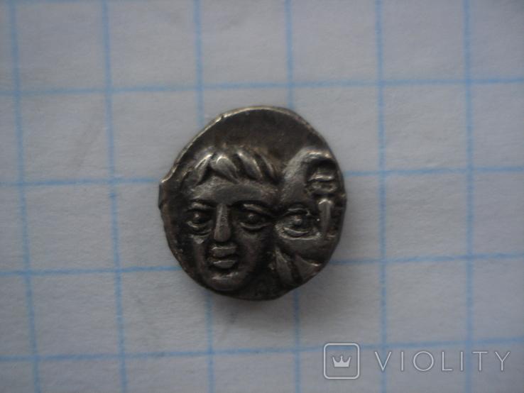 Истрия.Тригемиобол. Вес 1,32 грамма., фото №5