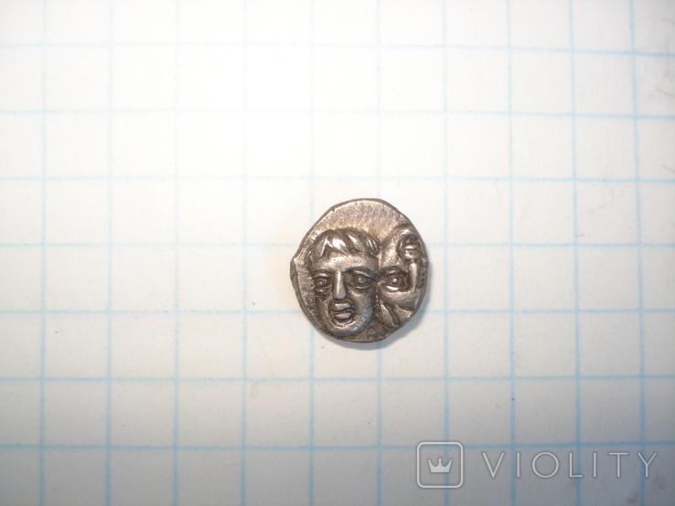 Истрия.Тригемиобол. Вес 1,32 грамма., фото №7