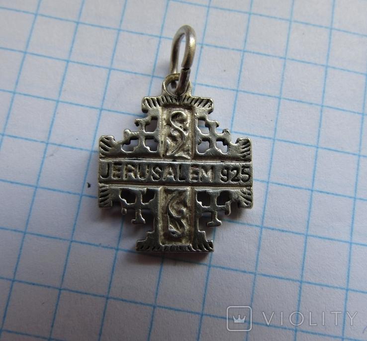 Крест Jerusalem925, фото №2