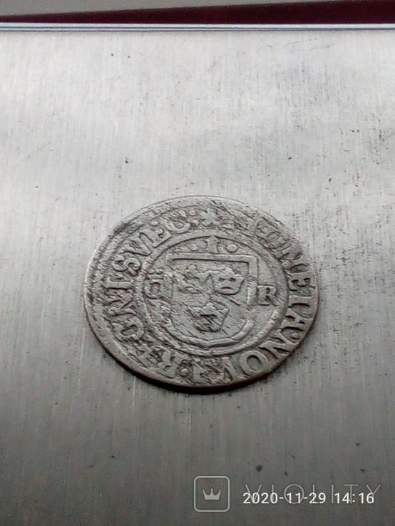 1 оре 1637 р. Швеція.