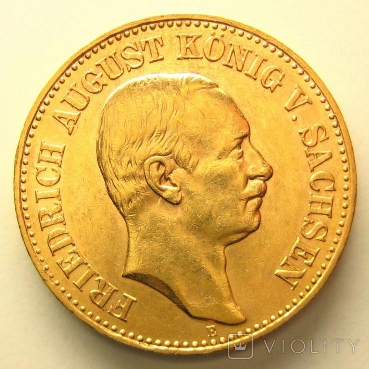 Саксония 20 марок 1905 г.