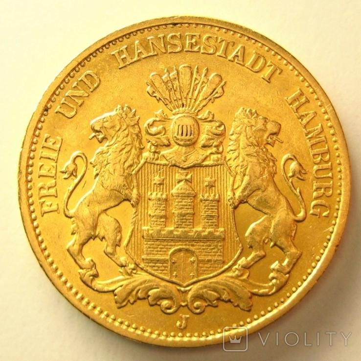 Гамбург 20 марок 1899 г.