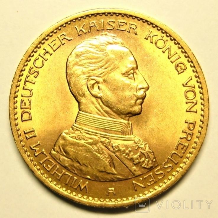 Пруссия 20 марок 1913 г., фото №2