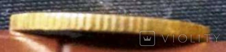 1 долар  1852 року США /репліка/ копія золотої  не магнітна, дзвенить, фото №3