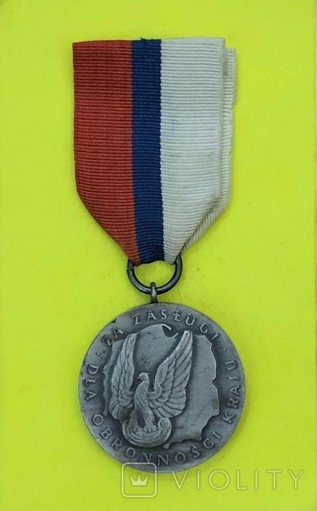 Серебряная медаль За заслуги при защите страны, фото №2