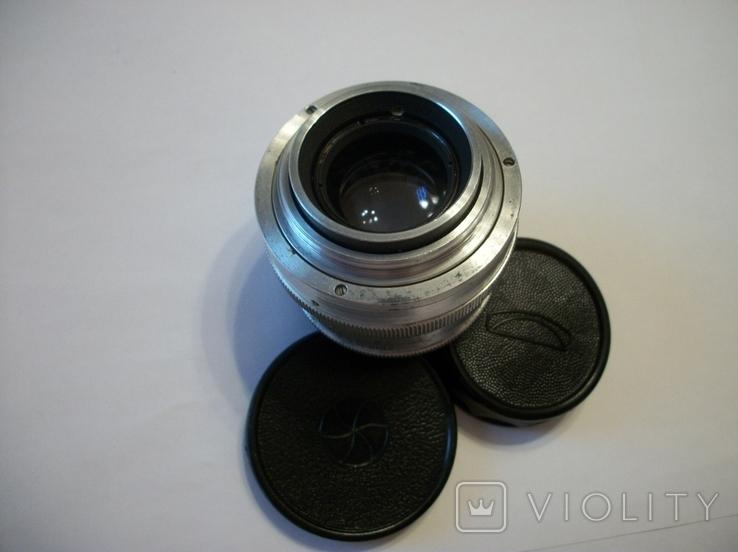 Объектив юпитер-8 белый made in ussr ,футляр,передняя-задняя крышки, фото №4