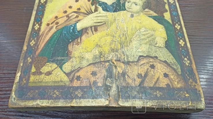 Икона Божья Матерь, фото №4
