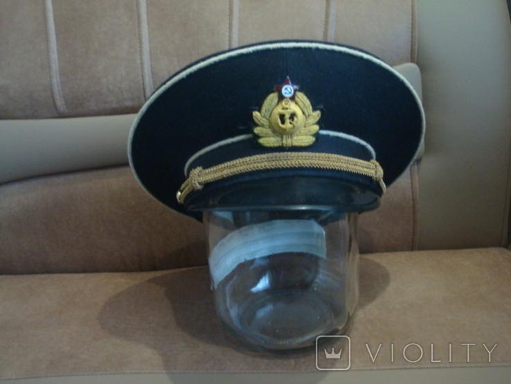 Фуражка ВМФ СССР ф-ка Зарница, фото №2