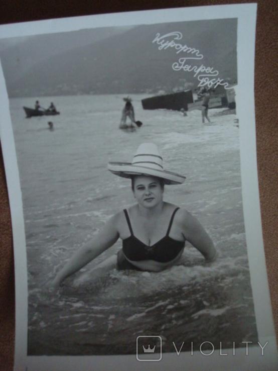 Фото НЮ курорт Гагры 1967год, фото №3