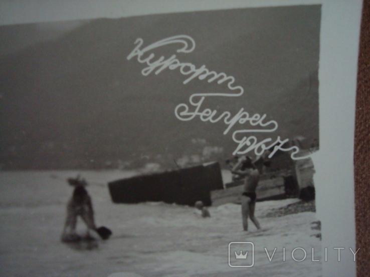 Фото НЮ курорт Гагры 1967год, фото №4