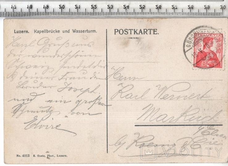 Швейцария. 1910 год., фото №3