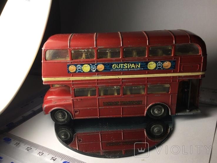 Автобус Двухэтажный Англия corci toys London transport  Routemaster, фото №7