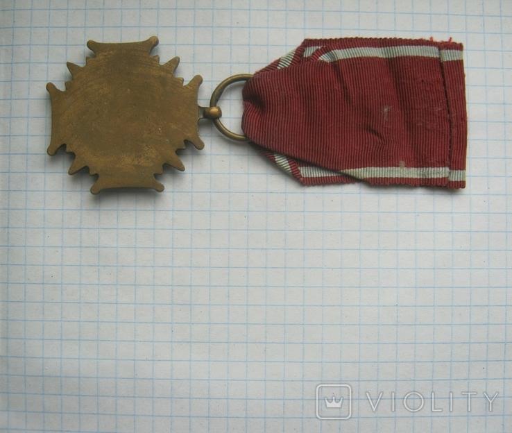 Крест за Заслуги в бронзе  государственная награда cоциалистической Польши низшей степени, фото №6