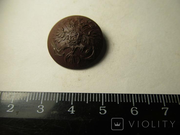 Пуговица c орлом на якорях 1, фото №3