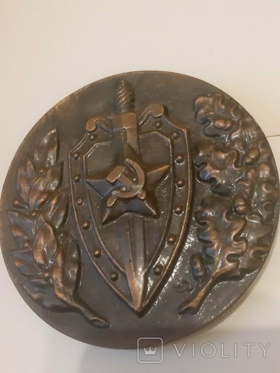 Дзержинский Настольная медаль, фото №3