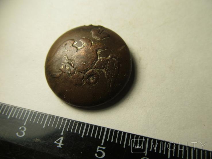 Пуговица c масонским орлом 3, фото №3