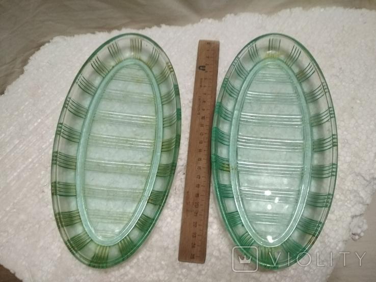 Селедочницы 2 шт. одинаковые, фото №2