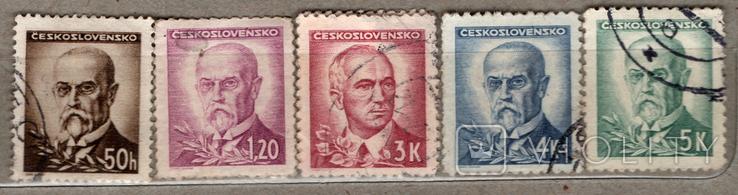 Чехословакия. Политики, 1945-1946 гг., фото №2