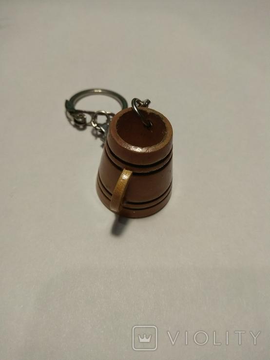 Брелок для ключей кружка, фото №3