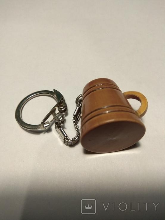 Брелок для ключей кружка, фото №4