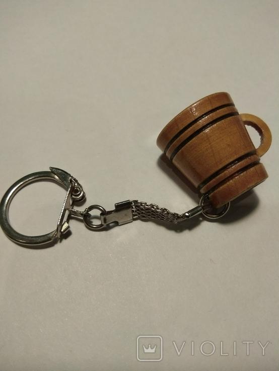 Брелок для ключей кружка, фото №6