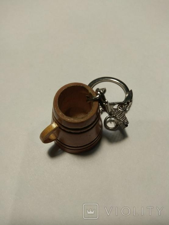 Брелок для ключей кружка, фото №2