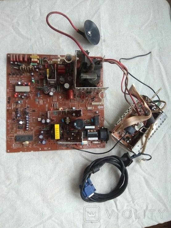Радиодетали плата старая аппаратура, фото №2