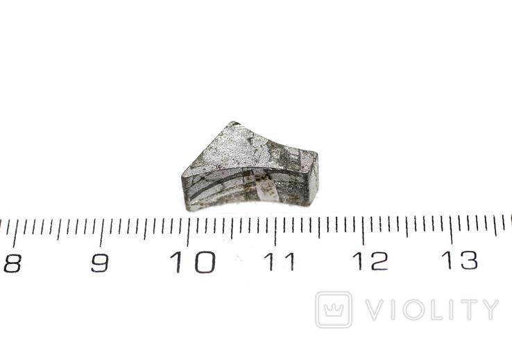 Заготовка-вставка з метеорита Seymchan, 3,4 г, із сертифікатом автентичності, фото №4