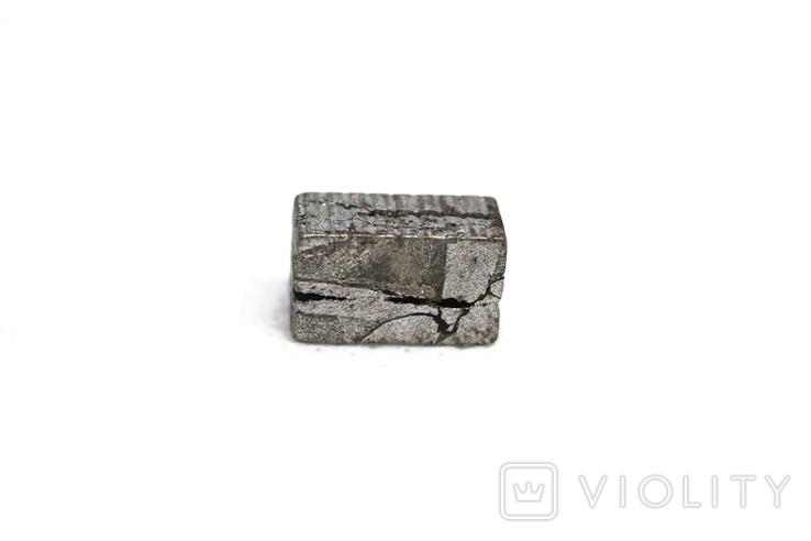 Заготовка-вставка з метеорита Seymchan, 3,9 г, із сертифікатом автентичності, фото №6