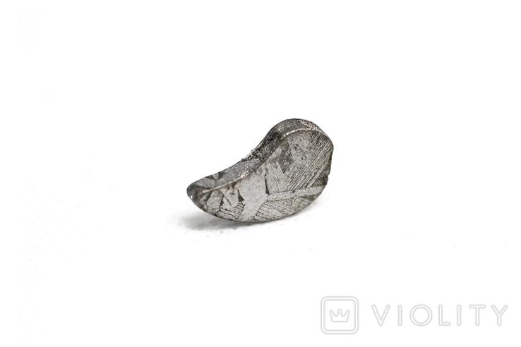Заготовка-вставка з метеорита Seymchan, 1,7 г, із сертифікатом автентичності, фото №2